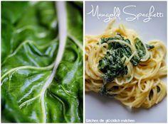 Sachen die glücklich machen: Mangold Spaghetti