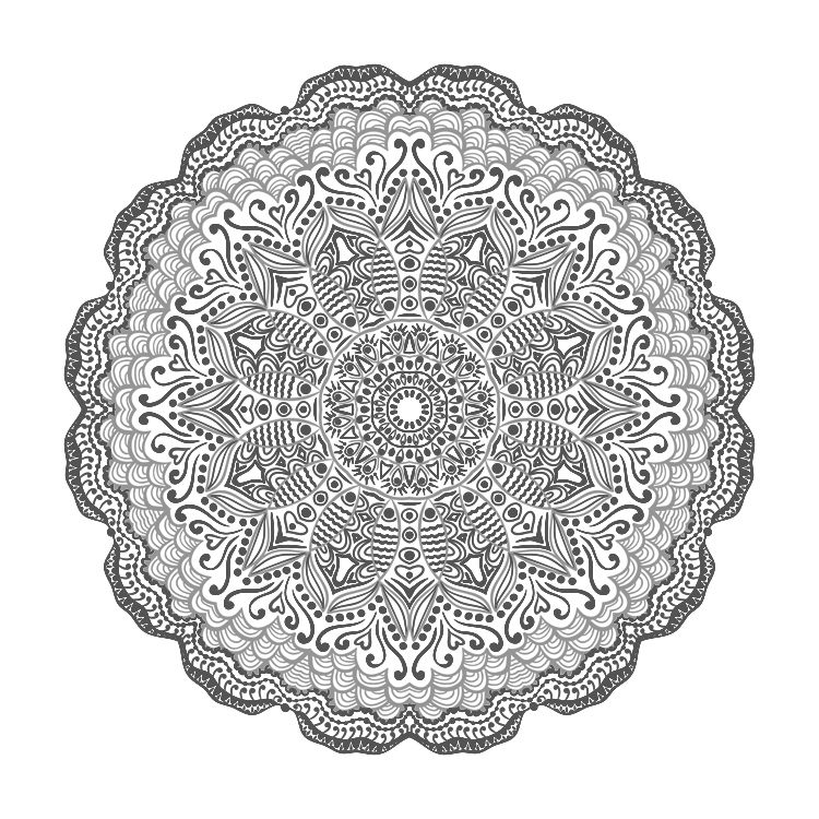 More Mandala Coloring | Mandala coloring, Mandala and Adult coloring