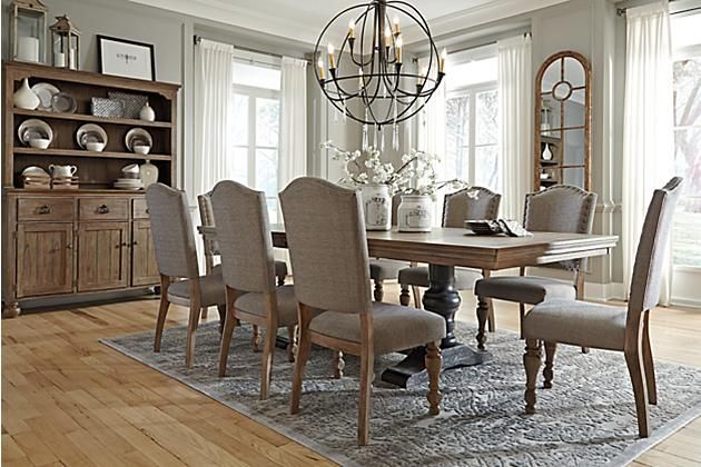 Wendota 5 Piece Dining Room By Ashley HomeStore Brown