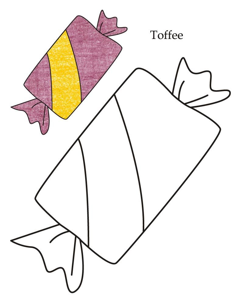 Toffee Drawing Coloring Pinterest Coloring Pages Templates