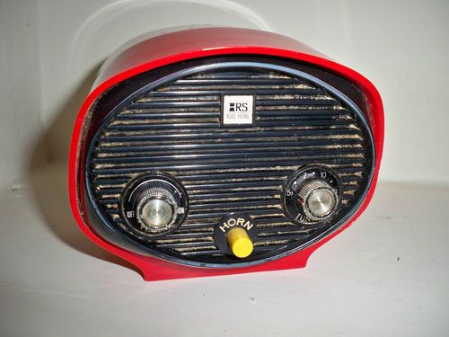 Vintage Archer Radio Shack Bicycle Am Radio Road Patrol