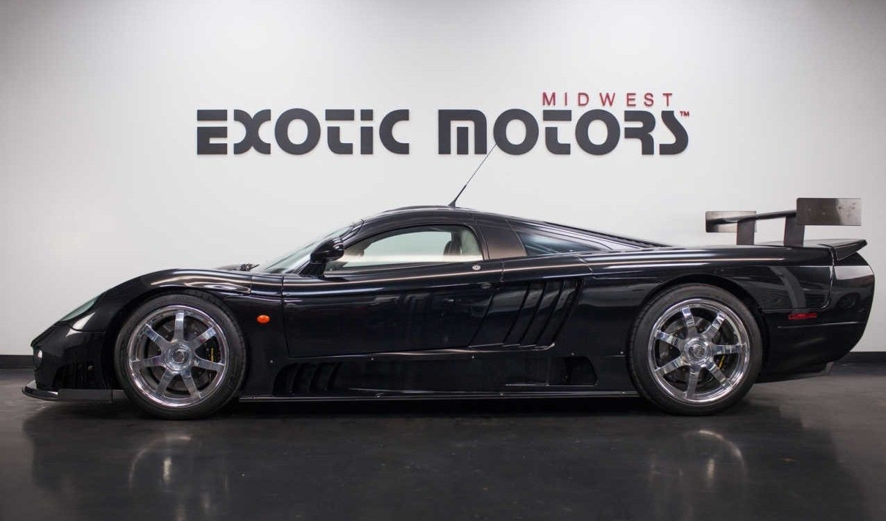 Black On Black Saleen S7 Twin Turbo For Sale Twin Turbo Ebay Finds Ebay Cars