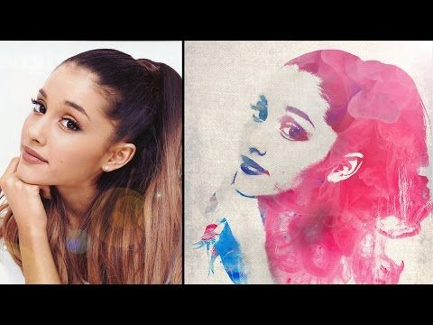 Tutorial Photoshop Watercolor Photo Effect Youtube Photoshop