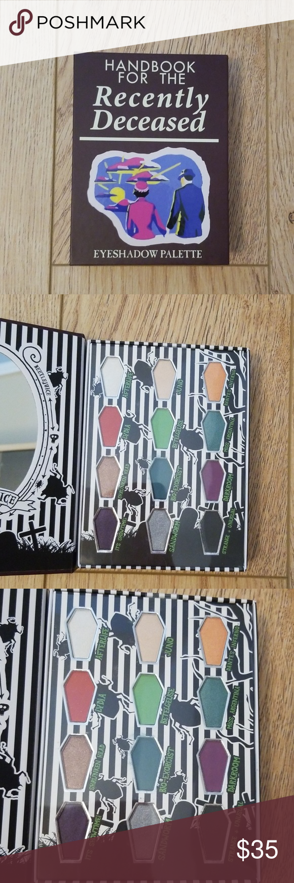 New Beetlejuice Eyeshadow Palette! NWT Eyeshadow palette