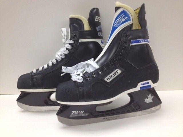 f09cd5fcadf1 BAUER SUPREME CUSTOM 4000 Men s Ice Hockey Skates Size  US 10.5 D  Bauer