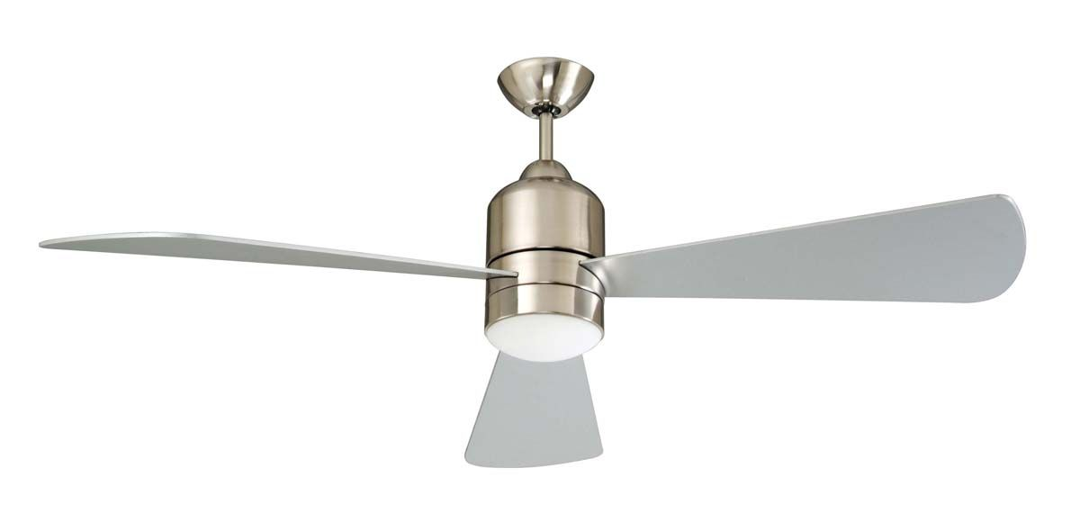 Concord Fans 60 Decca Large Stainless Steel Ceiling Fan With Light Remote Ceiling Fan Ceiling Fan With Light Stainless Steel Ceiling Fan