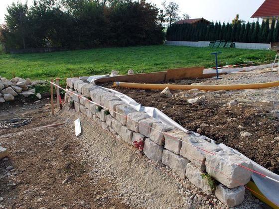 Garten Neu gestaltet Garten,Terasse,pflastern,Rasen,Hof,Anlegen