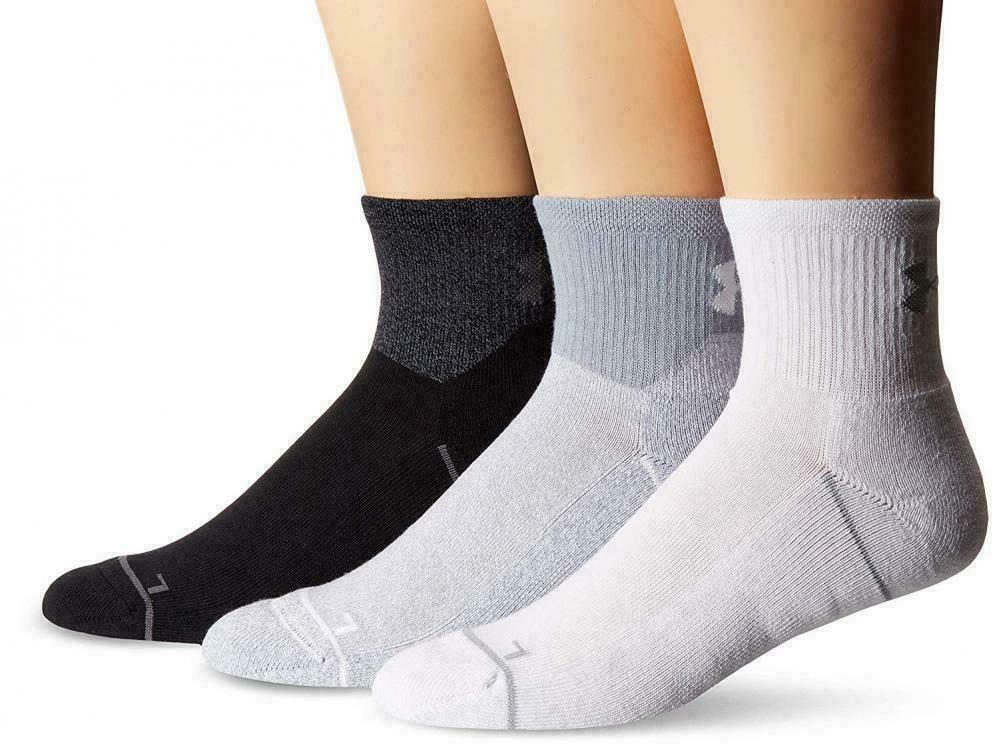 EVERLAST Mens Gym Boxing Training Crew Socks Black One Size /> UK 7-11 EU 40-45