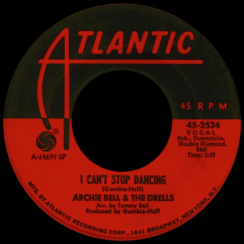 archie bell - i can't stop dancing /// listen to it on http://radioactive.myl2mr.com /// plattenkreisel - circular record shelf, dj booth, atomic cafe, panatomic, records, rod skunk, vinyl, raregroove, crate digging, crate digger, record collection, record collector, record nerd, record store, turntable, vinyl collector, vinyl collection, vinyl community, vinyl junkie, vinyl addict, vinyl freak, vinyl record, cover art, label scan