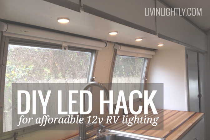 IKEA LED Hack for Affordable 12v RV