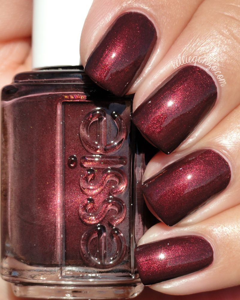 Essie Ready to Boa @kelliegonzoblog | Nails! | Pinterest | Esmalte ...