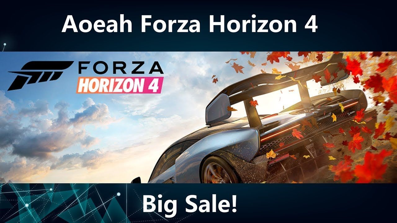 Aoeah Forza Horizon 4 Credits For Sale - How to Trade Forza