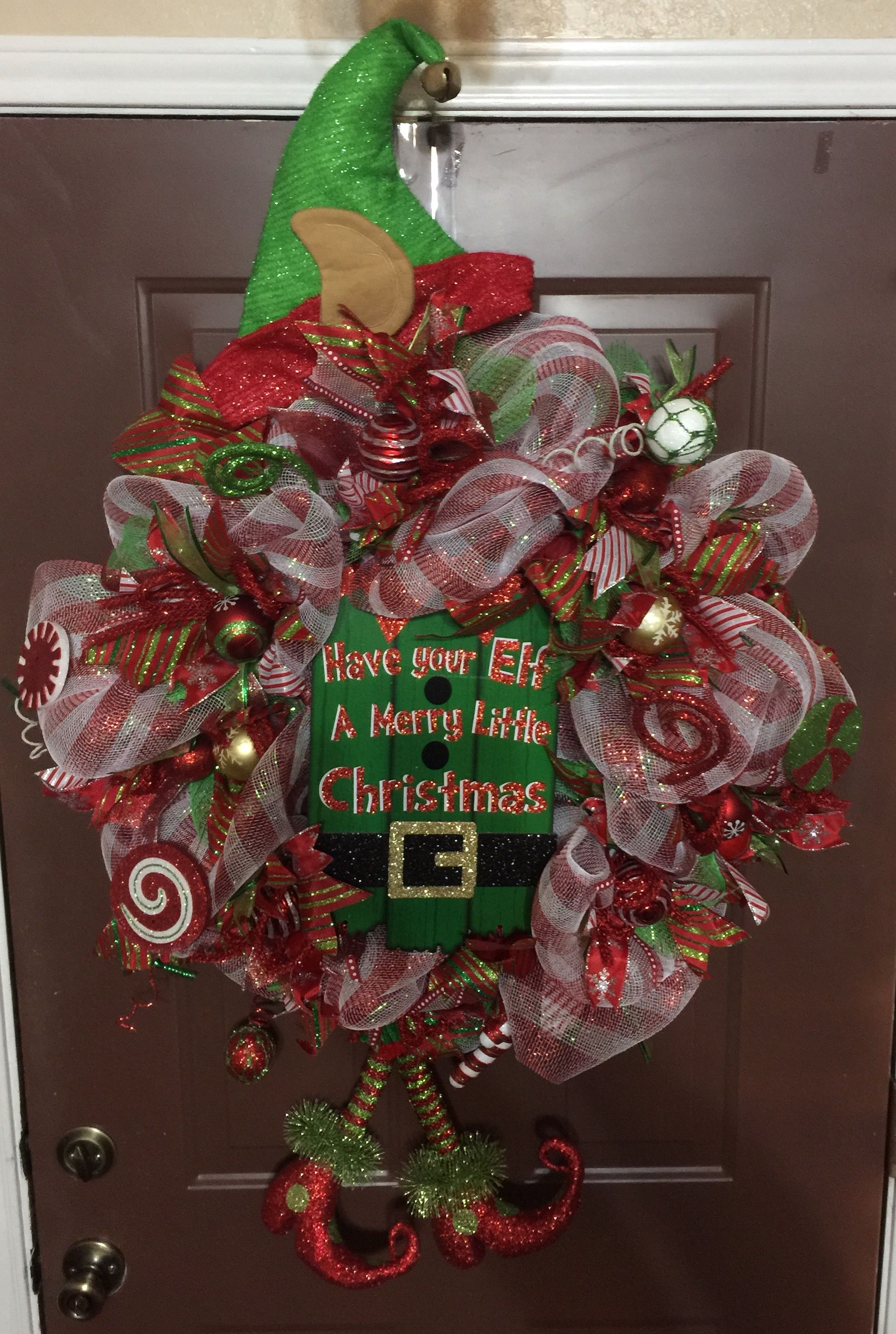 Pin by Nelda Garcia on My Creations Christmas wreaths