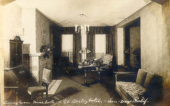 The Living Roomel Cortez Hotelsan Diego Ca Way Back When Magnificent The Living Room San Diego 2018