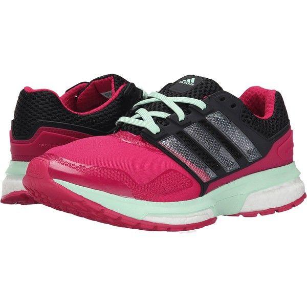 adidas Running Response Boost 2 Techfit (Bold Pink/Black/Frozen Green).