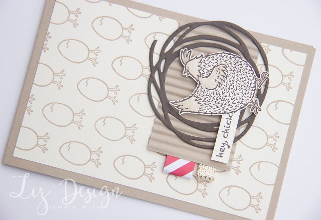 Stampin with Liz Design Hey Chick SAB Stampin Up Card
