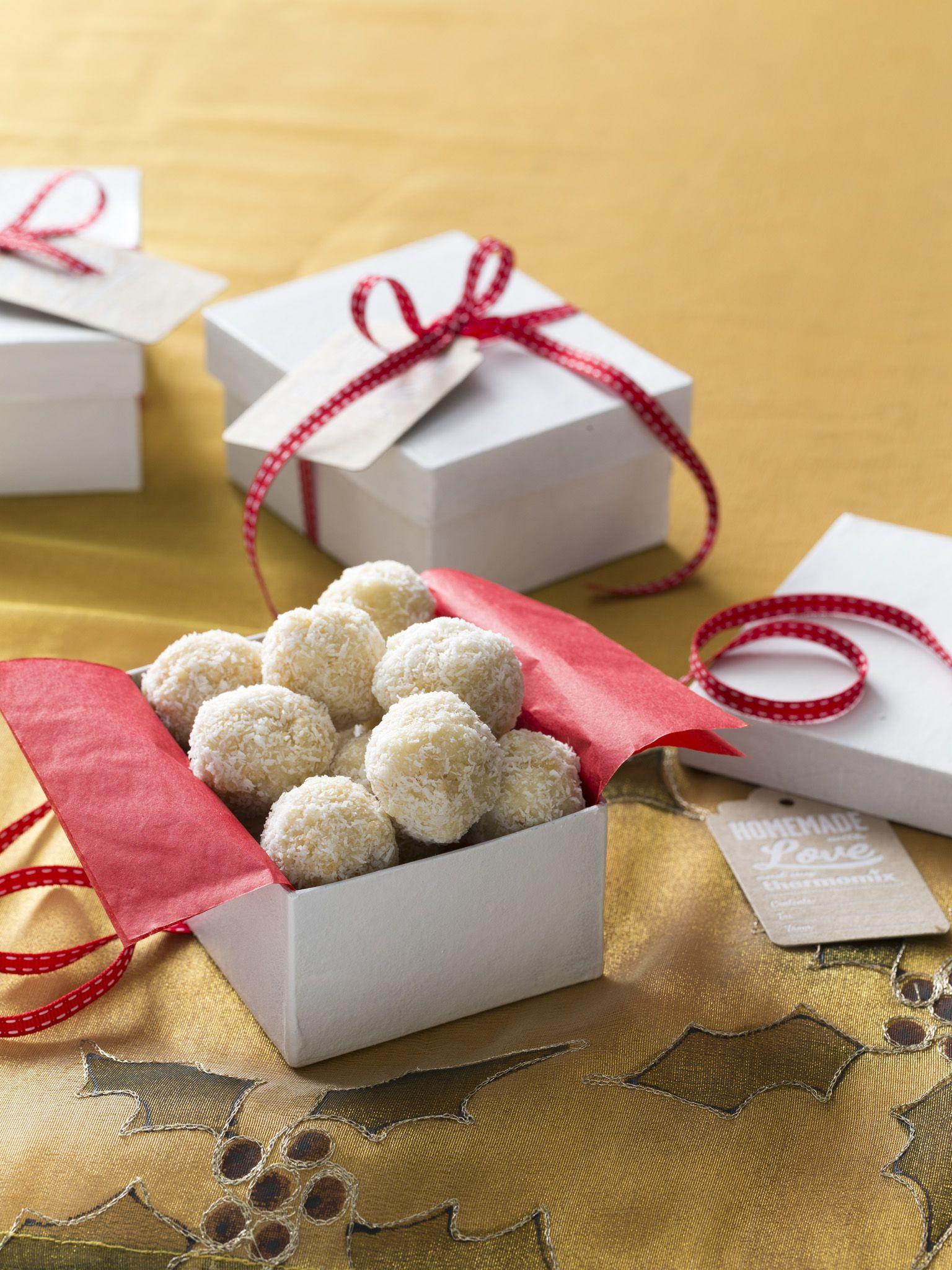Coconut Almond Snowballs Recipes To Love Thermomix Ebook Recipes