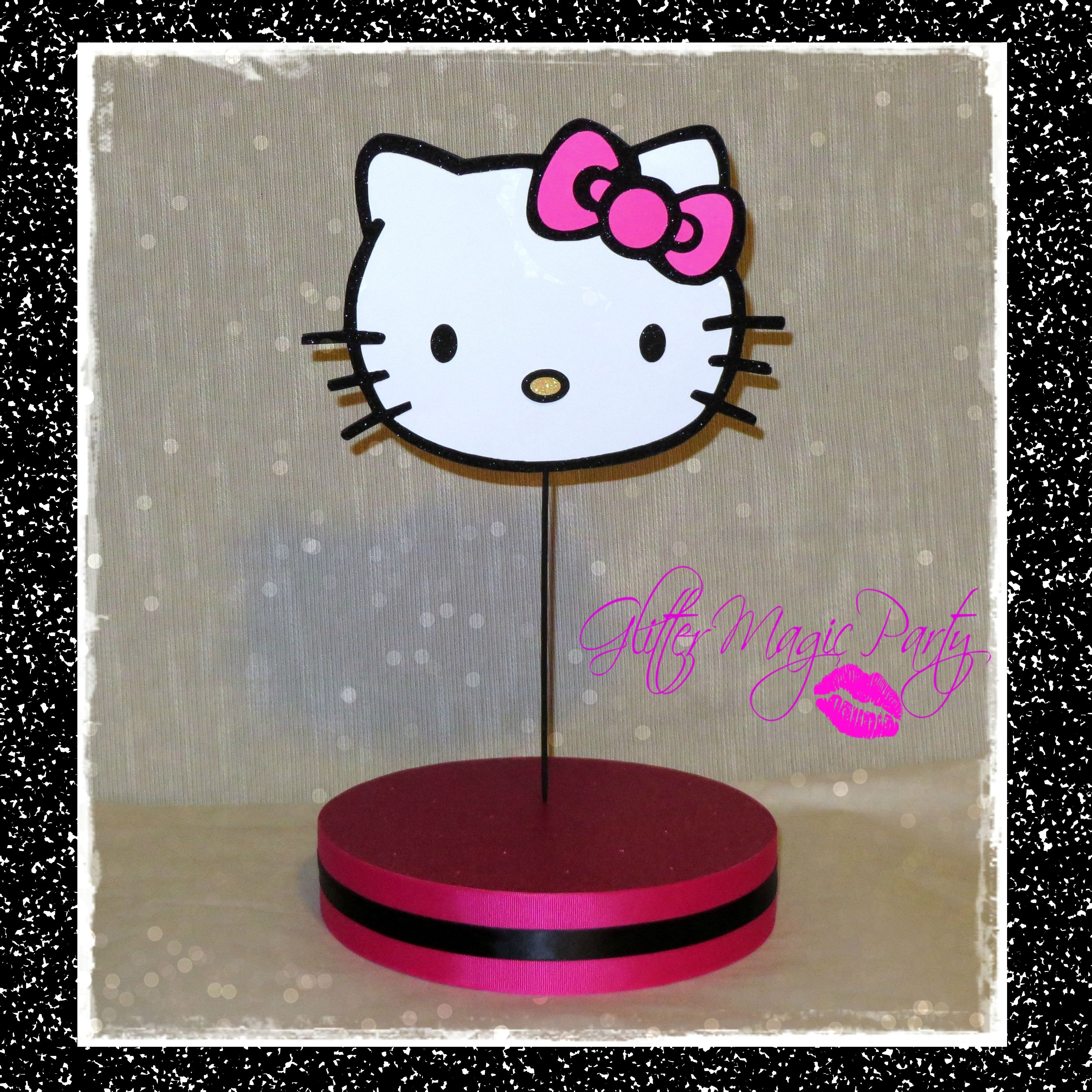 Hello Kitty Stand Lollipops Cakepops Holder Hello Kitty Inspired Pink Hello Kitty