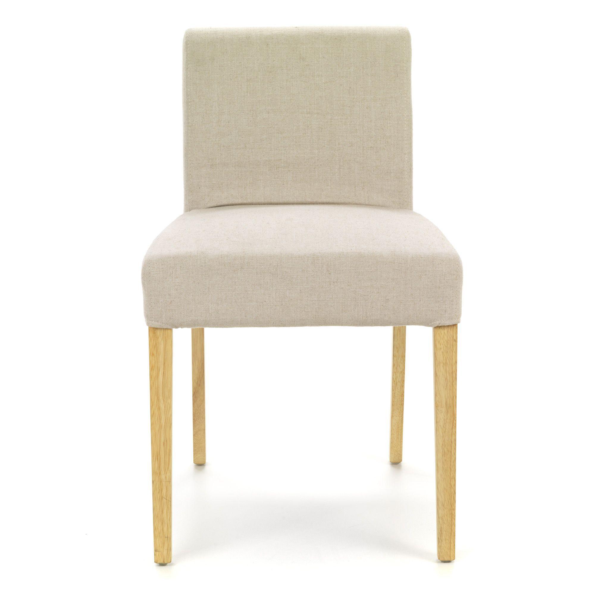 Housse de chaise Beige - Meryl - Chaises - Tables et chaises - Salon ...