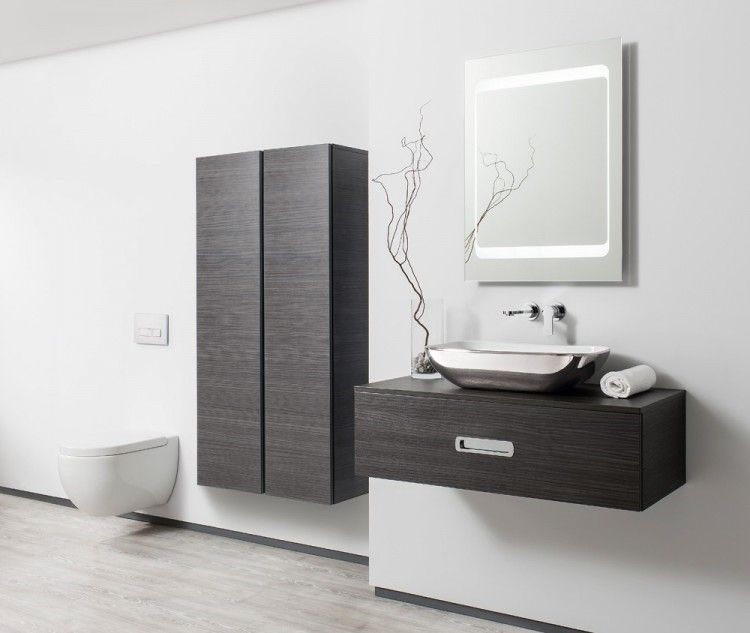 Seattle Anthracite Bauhaus Bathrooms Furniture Suites Basins Ultimate Bathroom Solutions