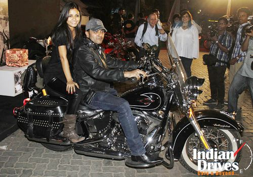 Celebrities At India Bike Week Party Bike Week Harley Davidson