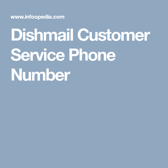 Dishmail customer service
