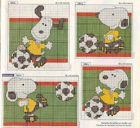 Cross Stitch: Snoopy!