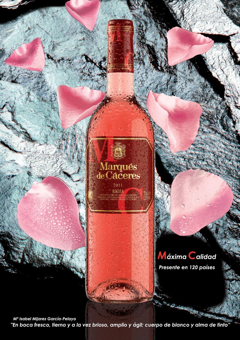 Marquesdecaceres Rose Wine Recipes Wine Bottle Wines