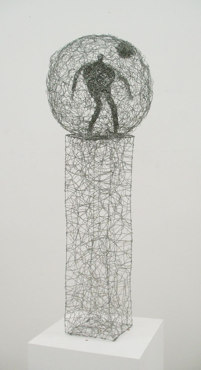 Wire Figures by Barbara Licha | Wire | Pinterest | Studio art and ...