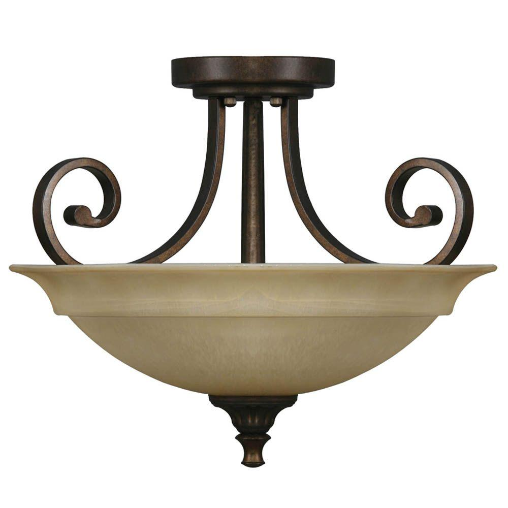 The Home Depot Logo Semi Flush Mount Lighting Flush Mount Lighting Brass Vanity Light