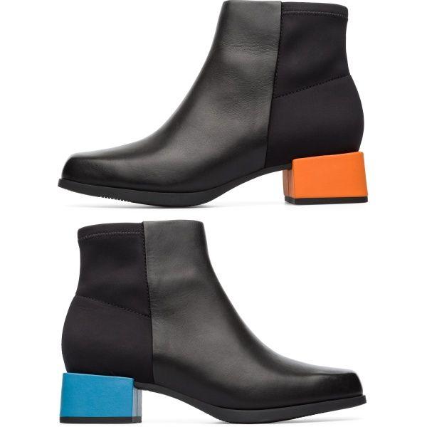 Camper Twins Black Ankle boots Women K400272 001 | Camper