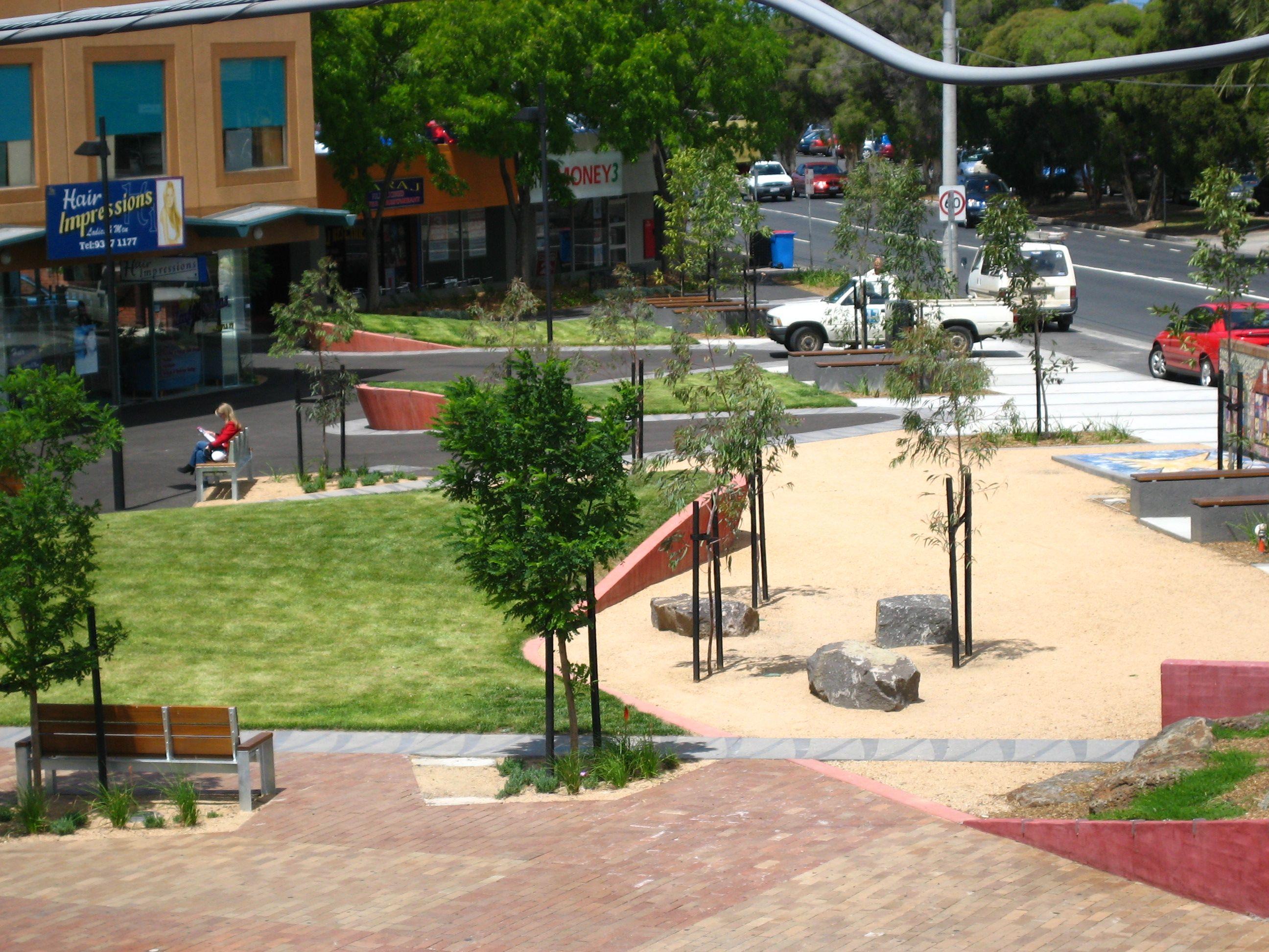 St Albans Square, Melbourne HASSELL. Carlo Missio ...