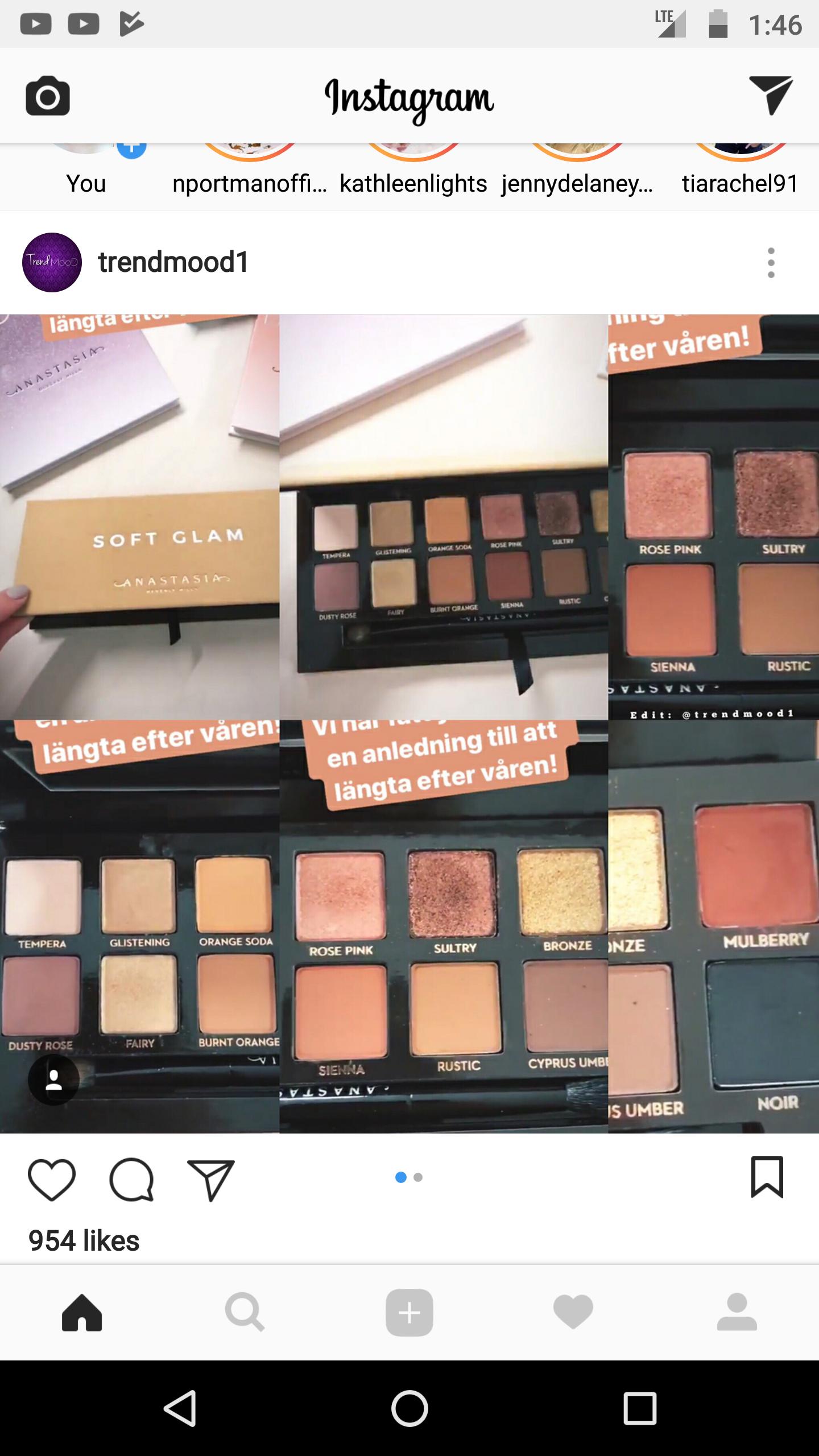 "New ABH pallet!!! ""Soft Glam""! Makeup tutorial, Makeup"