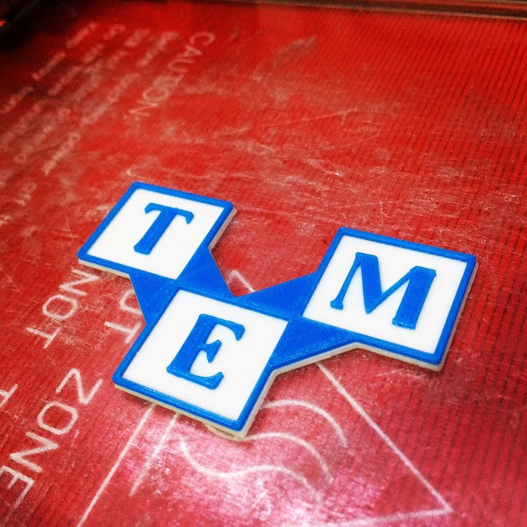 #tme #tmecz #pla #3dtisk #3dprint #3dprinting #businesslogo by adamcz001