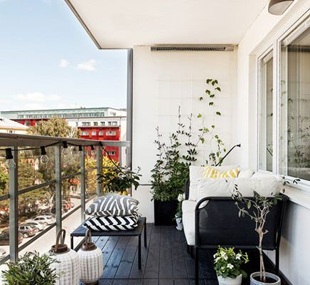 Balkon Afschermen Met Rieten Matten Inrichting Huis Com Balkon Decoratie Balkon Meubels Balkon