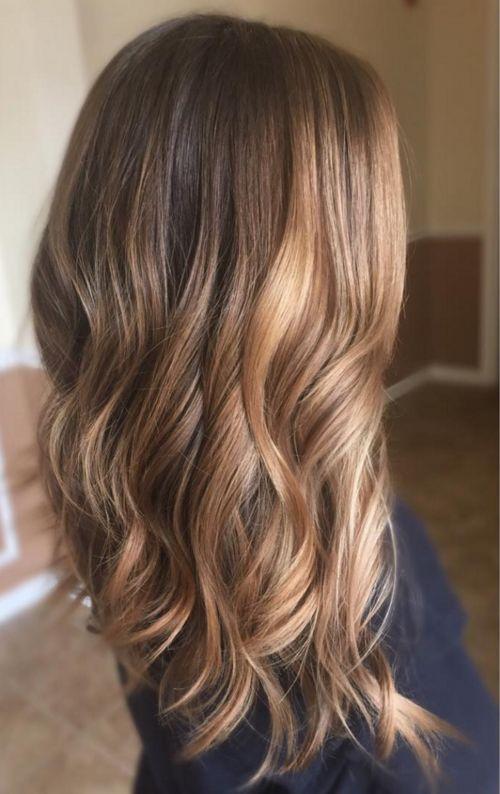 Inspiration 6 ombrés hair pour l'hiver Cheveux