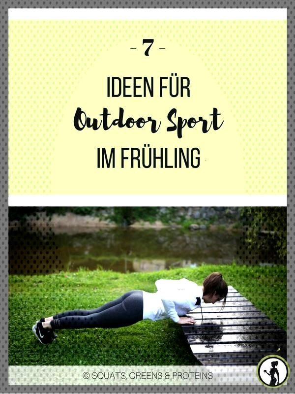 7 Ideen für Outdoor Sport im Frühling - Squats, Greens amp Proteins by Melanie 7 Ideen für Outdoor