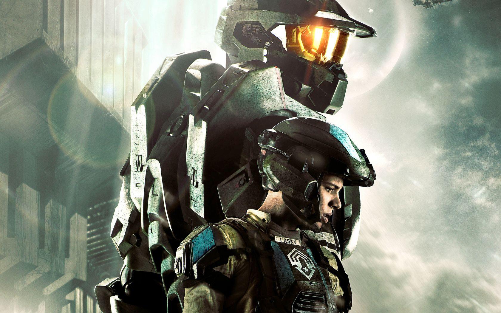 Tv Show Halo 4 Forward Unto Dawn Master Chief Lasky Wallpaper