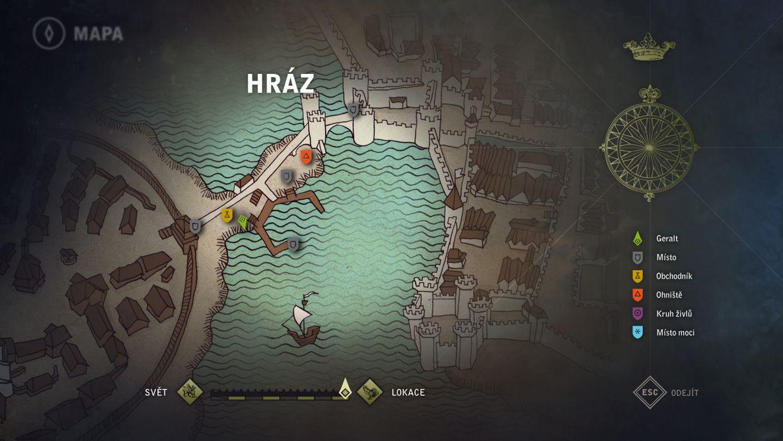 WITCHER the game - UI & Flashback Illustrations Remake on Behance