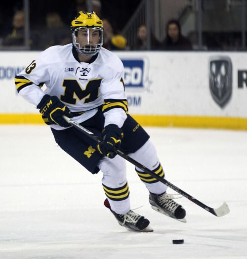 new concept c1e1e 832d1 Zach Werenski | Hockey | Michigan wolverines, Wolverines ...