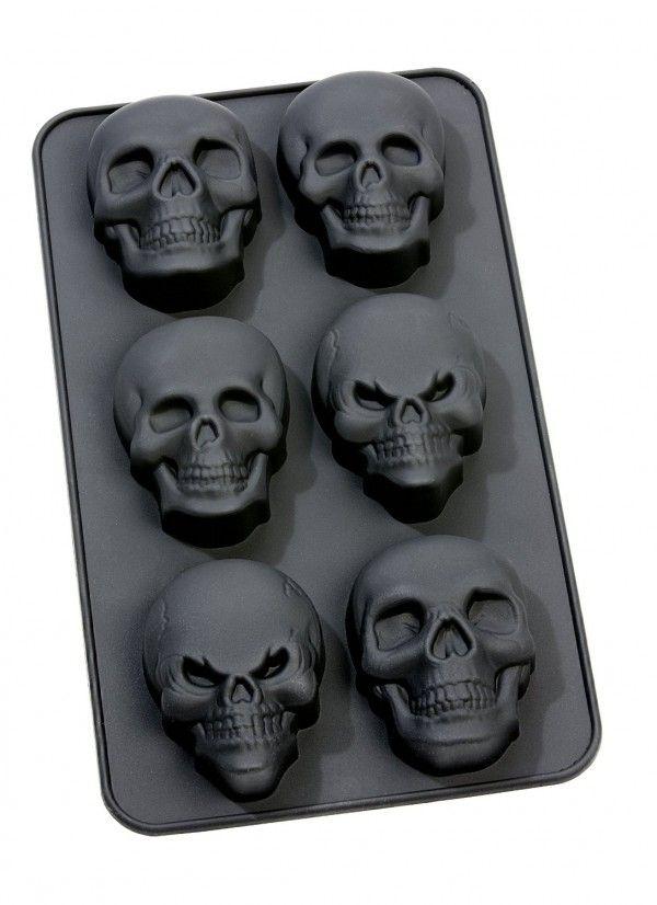 Ceinture Tête de Mort Noire