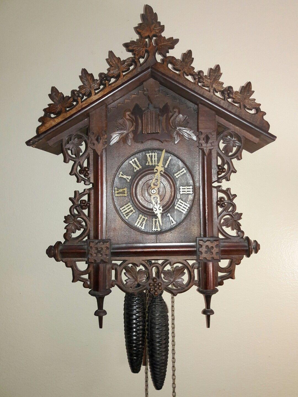 Gk Railroad Station House Cuckoo Clock