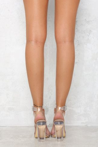 f635b3a6181 Windsor Smith Gemma Heel Clear