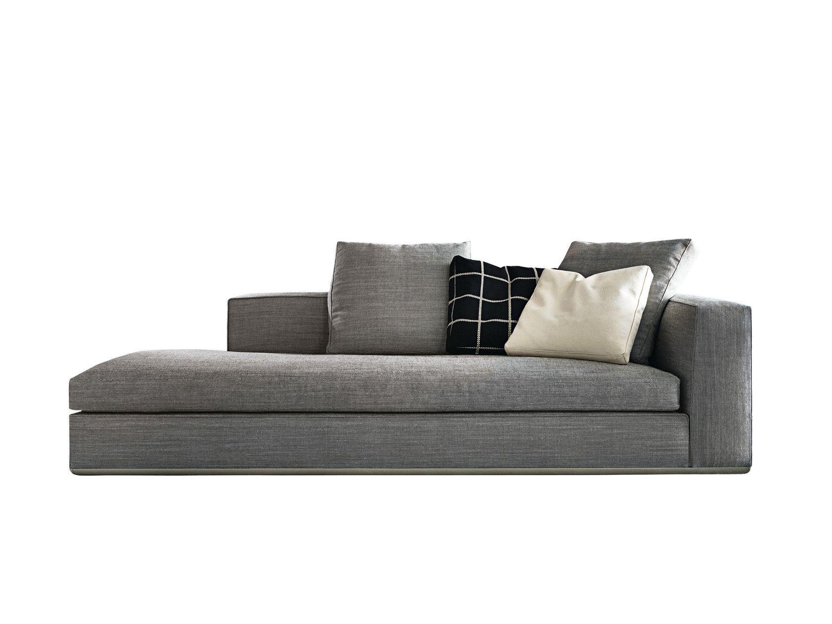 Chaise Longue Powell By Minotti Minotti Sofa Furniture Fabric Sofa