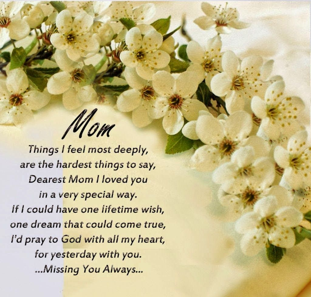 Dragonfly Treasure: ♥♥♥ Happy Birthday Mom, I Love And