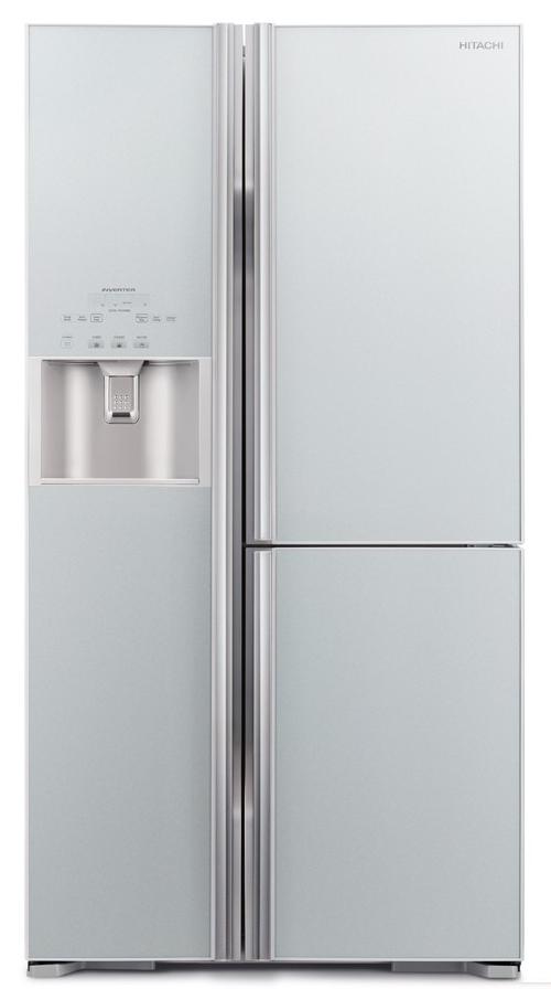 Hitachi 3 Doors Fridge R M800gp2m Gs Glass Fridge Kitchen