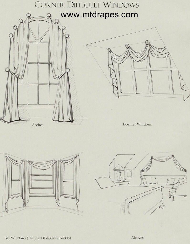 how to holdbacks for an arch window arched window treatments