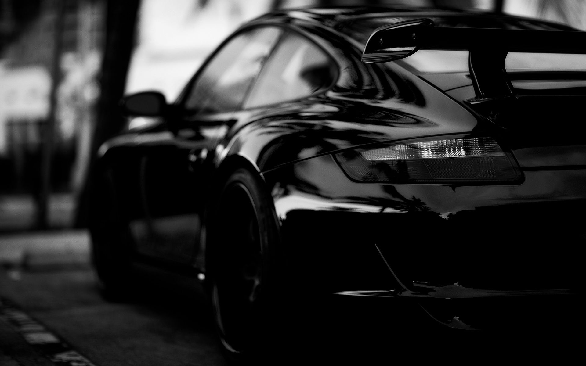Black Edition Porsche Wallpaper New Hd Cars Wallpaper Chernye Avtomobili Avtomobil Oboi