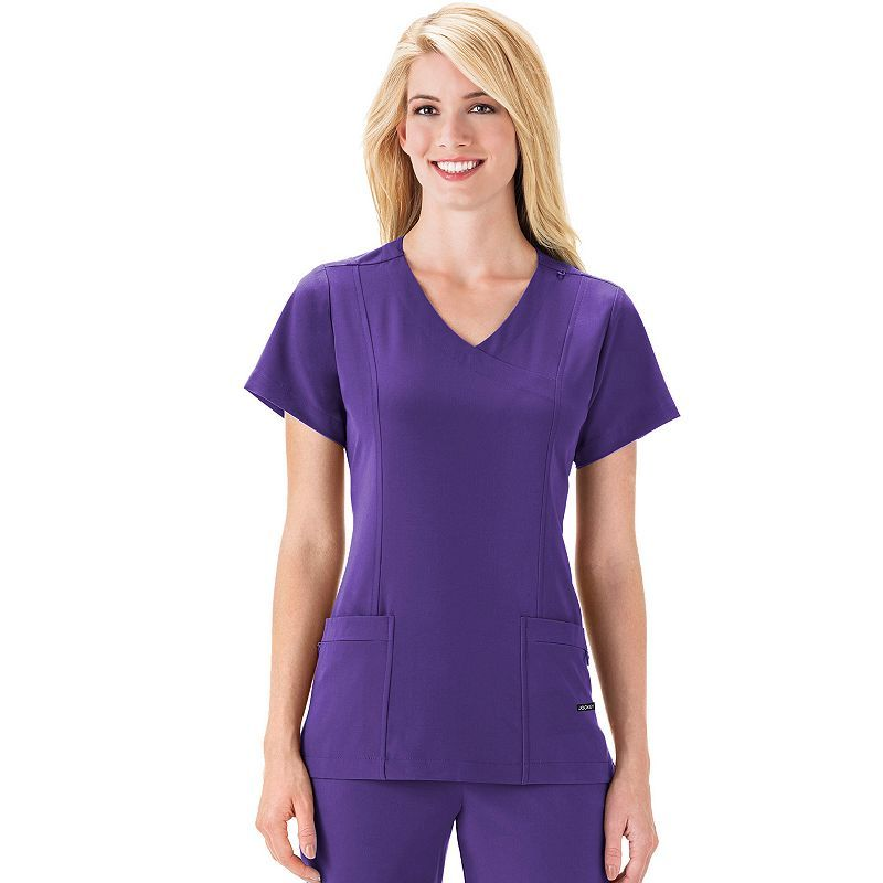 096bb08db59 Women s Jockey Scrubs Classic Mock-Wrap Top
