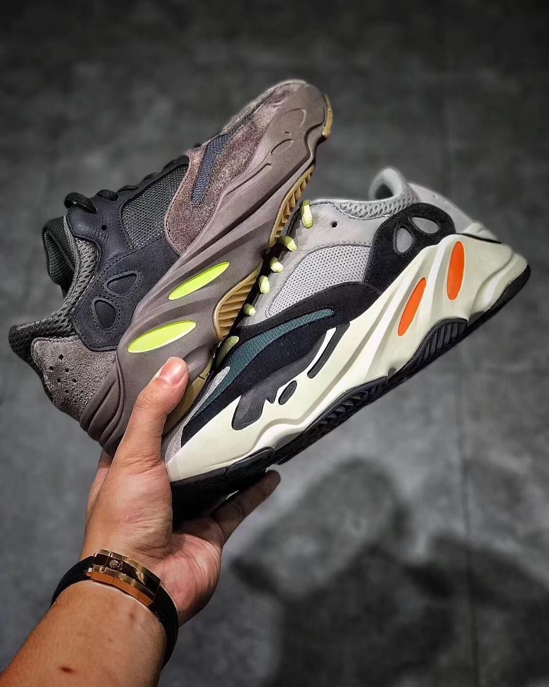 71bed931c4490 Street Fashion👉Yeezy Boost 700 Waverunner   Mauve DM me if interested US  Size 4-13  adidaskanyewest  boostheaven  complexkicks…